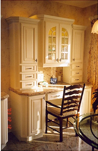 kitchen cabinet desk 2