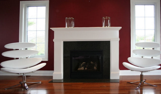 White Fireplace Mantels Design