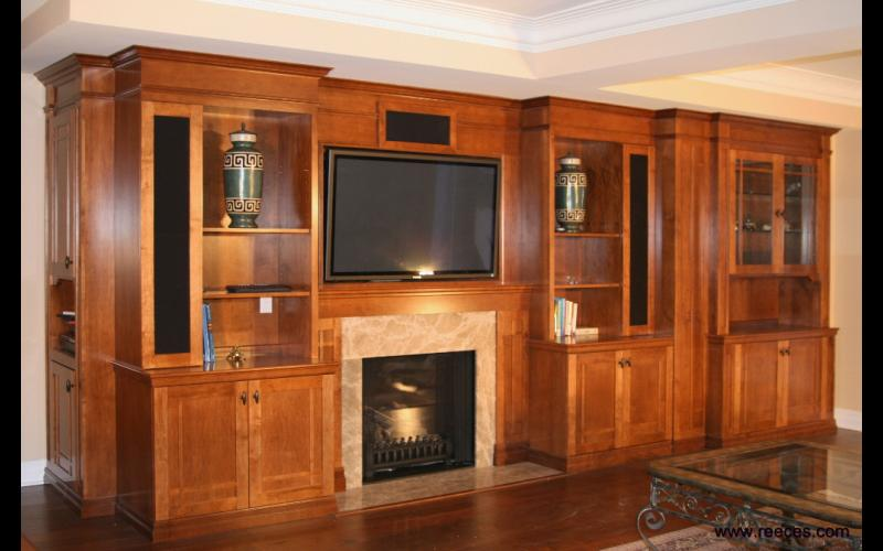 Reeces fine interiors and woodworking for Elegant wall units