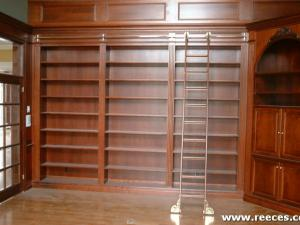 Solid Wood Library