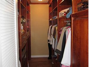 Ample hanging space & shelving