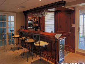 Beautiful Antique Pine Bar by Reece's