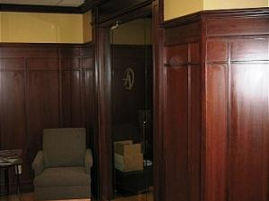 Boardroom Elegance, Reeece's Custom Wood Panelling,