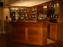 Arts-and-Crafts Bar in Maple - Fine Woodworking by Reece's - Note the clean elegant lines of the motif