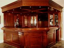 Reeece's spectacular home bars can be used for commercial purposes as well