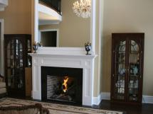 Panel mantel--Reeece's custom design