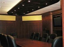 Boardroom Elegance Reeece's Custom Woodworking - Boardroom