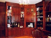 Cherry Wood Library and Home Office