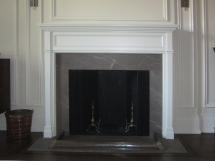 Elegant, simple, classic fireplace mantel--Modern, contemporary, timeless