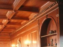 Solid Wood Coffer Ceilings